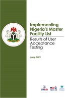 Implementing Nigeria's Master Facility List: Results of User Acceptance Testing
