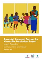 Rwanda's Improved Services for Vulnerable Populations Project: Impact Evaluation: Summary of End Line Findings