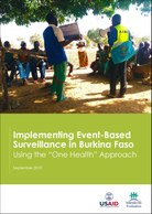 "Implementing Event-Based Surveillance in Burkina Faso: Using the ""One Health"" Approach"