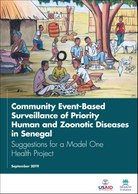 Community Event-Based Surveillance of Priority Human and Zoonotic Diseases in Senegal: Suggestions for a Model One Health Project