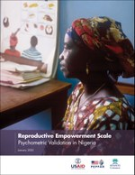 Reproductive Empowerment Scale: Psychometric Validation in Nigeria