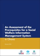An Assessment of the Prerequisites for a Social Welfare Information Management System in Ghana