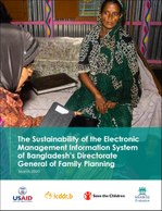 The Sustainability of the Electronic Management Information System of Bangladesh's Directorate General of Family Planning