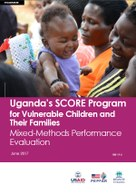Uganda's SCORE Program for Vulnerable Children and Their Families: Mixed-Methods Performance Evaluation