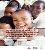 Impact Evaluation of a School-Based Sexuality and HIV Prevention Education Activity in South Africa – Baseline Survey Report