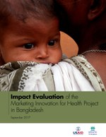 Impact Evaluation of the Marketing Innovation for Health Project in Bangladesh