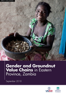 Gender and Groundnut Value Chains in Eastern Province, Zambia