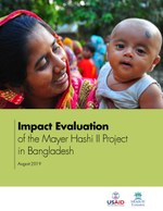 Impact Evaluation of the Mayer Hashi II Project in Bangladesh