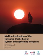 Midline Evaluation of the Tanzania Public Sector System Strengthening Program – Final Report