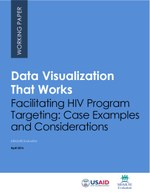 Data Visualization That Works - Facilitating HIV Program Targeting: Case Examples and Considerations