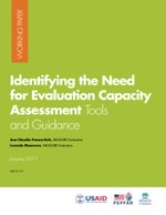 Identifying the Need for Evaluation Capacity Assessment Tools and Guidance