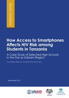 How Access to Smartphones Affects HIV Risk among Students in Tanzania:  A Case Study of Selected High Schools in the Dar es Salaam Region