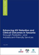 Enhancing HIV Retention and Clinical Outcomes in Tanzania through Pediatric- and Adolescent-Friendly Services