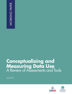 Conceptualizing and Measuring Data Use: A Review of Assessments and Tools