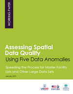 Assessing Spatial Data Quality Using Five Data Anomalies: Speeding the Process for Master Facility Lists and Other Large Data Sets