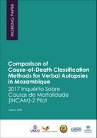 Comparison of Cause-of-Death Classification Methods for Verbal Autopsies in Mozambique: 2017 Inquérito Sobre Causas de Mortalidade (INCAM)-2 Pilot