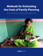 Methods for Estimating the Costs of Family Planning: Report of the Expert Group Meeting on Family Planning Costing