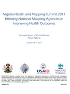 Nigeria Health and Mapping Summit 2011: Enlisting National Mapping Agencies in Improving Health Outcomes