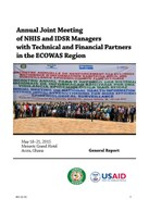 Annual Joint Meeting of National Health Information System (NHIS)  and Integrated Disease Surveillance and Response (IDSR) Managers with Technical and Financial Partners in the ECOWAS Region: General Report
