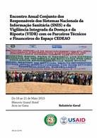 Encontro Anual Conjunto dos Responsaveis dos Sistemas Nacionais da Informação Sanitária (SNIS) e da Vigilância Integrada da Doença e Risposta (VIDR) com os Parceiros Técnicos e Financeiros do Espaço CEDEAO: RELATORIO GERAL