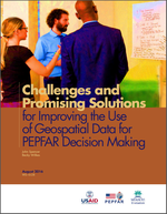 Challenges and Promising Solutions for Improving the Use of Geospatial Data for PEPFAR Decision Making