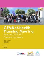 GEMNet-Health Planning Meeting February 23–25, 2017, Cuernavaca, Mexico